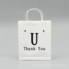 Portátil de supermercado de bolsa de papel de compras