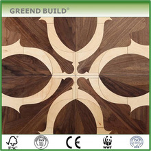 Art parquet bedroom wood floor