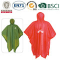 Wholesale PVC rain cape poncho rain coat