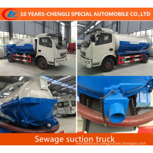 8cbm Sewage Suction Truck 2016 New Vacuum Suction Truck for Sale