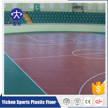 Fabricantes de máquinas Pvc Vinyl Basketball Flooring