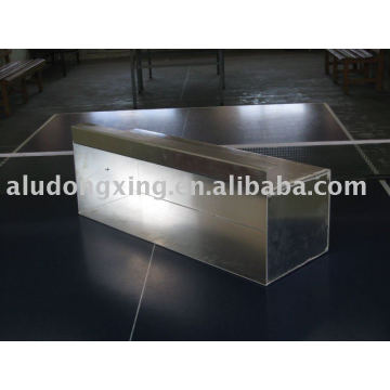 Aluminium machinery and welding parts