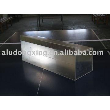 Máquinas de alumínio e peças de soldagem