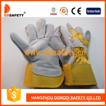Ddsafety Cow Split Leather Gloves-Dlc213