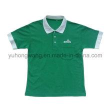 Мужская футболка с промотированием хлопка, рубашка поло