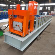 La línea de producción del tejado del arco del metal de China Ghana África galvanizó el rollo de la tapa del canto del acero galvanizado que formaba la máquina del precio bajo