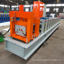 China ghana africa arch metal roof production line galvanized steel ridge cap roll forming machine of low price