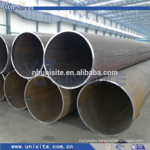 (accurately) steel tube with or without flange