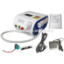 Máquina portable de la eliminación del tatuaje del laser