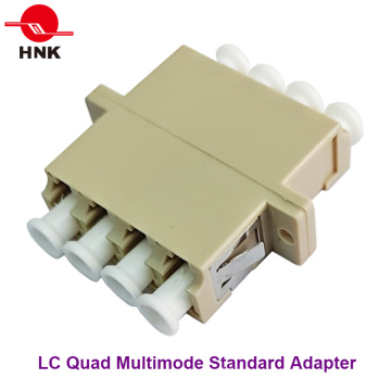 LC Quad Multimode Standard Fiber Optic Adapter