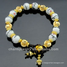 Hand Crafted Bamboo Porcelain Beaded Bracelet BC-005