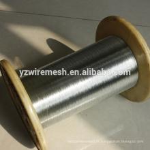Fil galvanisé trempé à chaud de 0,28 mm pour le marché sud-coréen Fil de fer galvanisé à chaud