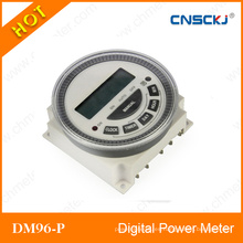 Temporizador programable LCD digital TM-619-4 12V DC 5pin