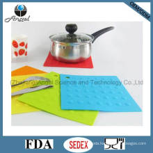 Heat Protection Silicone Tableware Mat, Silicone Placemat Sm01