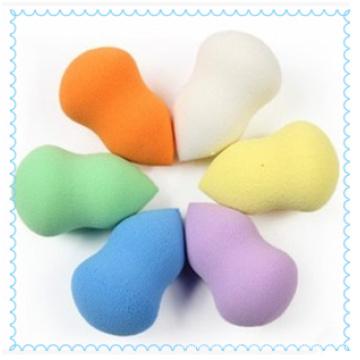 Maquillaje de belleza esponjas Power Puff cosmético fabricado en Qingdao
