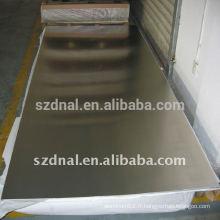 Plaque d'aluminium 6061 T6 fabricant