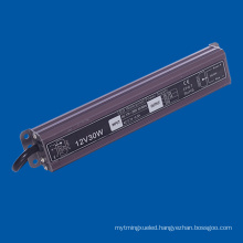 IP67 Outdoor Driver DC12V Power Supply for LED Lamp