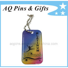 Metal Dog Tag with Printed & Epoxy