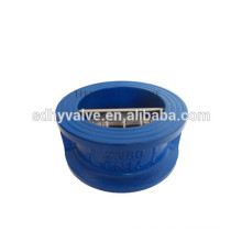 PN10/pn16 cast iron water media double disc. check valve