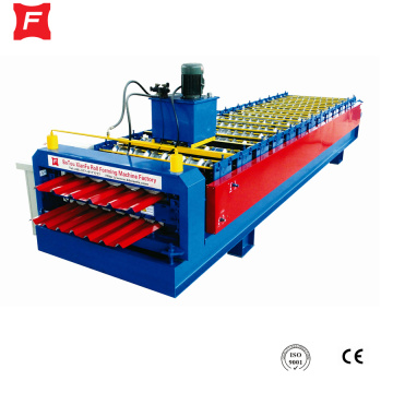 Corrugated and Ibr Double Layer Roll Forming Machine