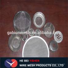 Filtro de baixo preço Filtro / aço inoxidável Wire Mesh / Mesh Gauze Filter Direct China alibaba