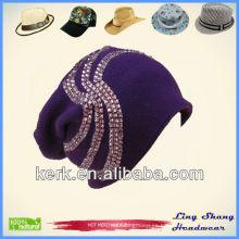 LSC30 Ningbo Lingshang Diseño hermoso decorativo 100% Algodón pesca sombrero flexible
