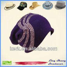 LSC30 Ningbo Lingshang bela decoração design 100% algodão pesca chapéu flexível