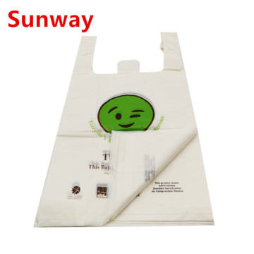 Custom Shopping Compostable Bags