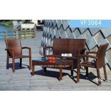 Traditional Easy Design Garden PE Wicker Rattan Sofa