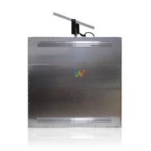Panneau de signalisation solaire à demi-tour solaire à LED directionnel en aluminium
