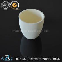 Al2O3 Aluminiumoxid Keramik Tiegel, Hochtemperatur-Korund-Tiegel