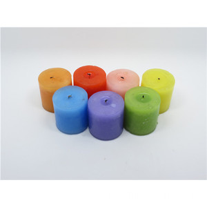 Colour Scented Wax Homedecoration Pillar Candle
