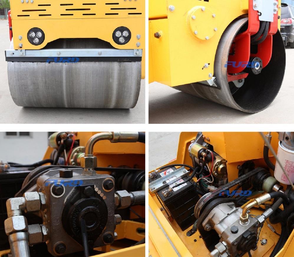 Baby Road Compactor Roller
