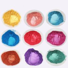 Pó colorido do pigmento da pérola para a pintura do ofício da arte