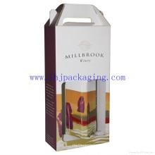 Caja de presentación de vinos