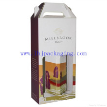 Emballage personnalisé Boîte à vin