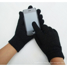 Full Touch Screen Knitted Fashion Magic Winter Gloves (YKY5437)