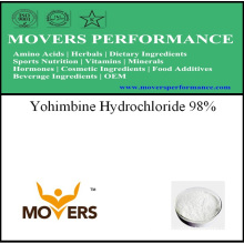 Extrait de plante de qualité supérieure - chlorhydrate de yohimbine 98%
