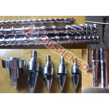 accessories for injection molding machine screw and barrel head