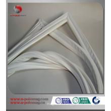 Rubber magnet for refrigerator door gasket