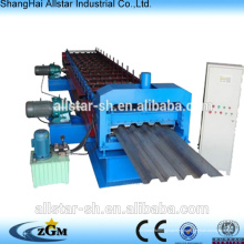 Popular floor decking cold roll forming machine