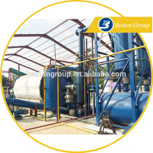 Henan Beston Machinery Waste tyre/rubber/plastic full automatic pyrolysis plant