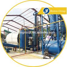 Хэнань Бестон машины отходов шин/резиновые/пластиковые полноавтоматический завод пиролиза