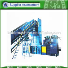 automatic horizontal baler for paper and plastic