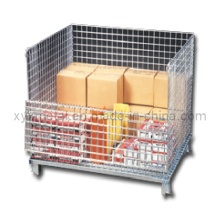 Manufacturer of Warehouse Storage Wire Mesh Container