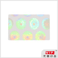 ID Card Security Transparent Hologram Stickers