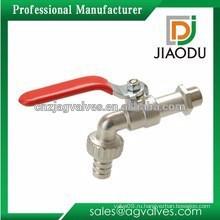 Кованый заказной DN10 CW352H никелированный латунный пвх биок для воды