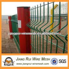 Geschweißte 3D Bending Wire Mesh Zaun Panel zum Verkauf.