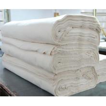 Polyester 45% et coton 55% Tissu gris 21 * 16 * 120 * 60