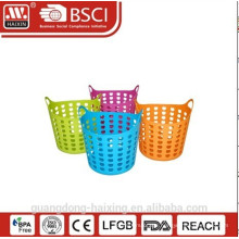Popular plastic laundry basket/LDPE laundry basket (29L)